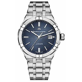 Maurice Lacroix Aikon Automatic Stainless Steel Blue Dial AI6008-SS002-430-1 Watch