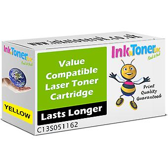 Compatible S051162 Yellow C13S051162 Toner for Epson Aculaser C2800DTN