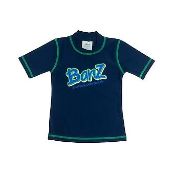 Banz Kids UV Short Sleeved Rash Top - Navy