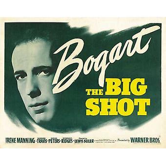 Big Shot filmaffischen (11 x 17)