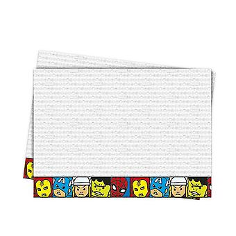 Avengers team power super hero party tablecloth 120 x 180 cm 1piece children birthday theme party