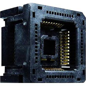 PLCC socket Contact spacing: 1.27 mm Number of pins: 32 Yamaichi