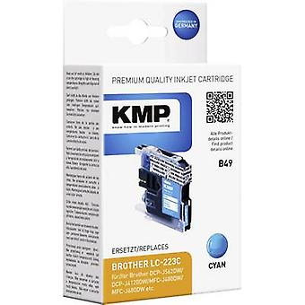 KMP Ink replaced Brother LC-223C Compatible Cyan B49 1529,0003