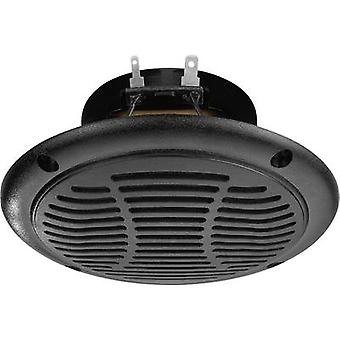 Monacor SPE-110P/SW Outdoor speaker 30 W IP65 Black 1 pc(s)