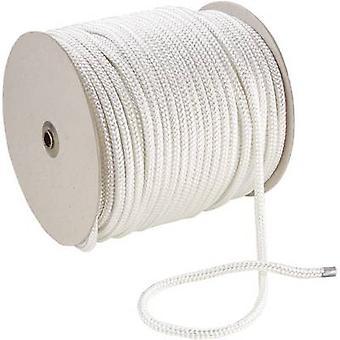 Corda de poliéster (Ø x L) mm x 100 5m 20054 branco
