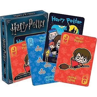 Harry Potter Chibi Set van 52 speelkaarten (+ Jokers) (52525)