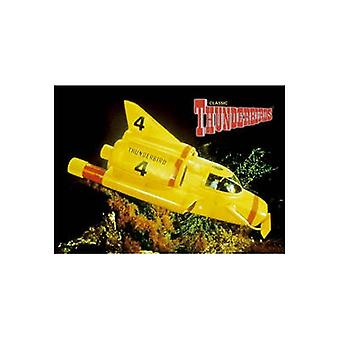 Thunderbird 4 Steel Fridge Magnet