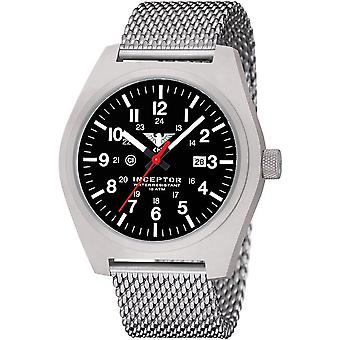 KHS mens watch interceptor steel KHS. INCS.MS