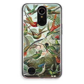 LG K10 (2017) Transparent Case (Soft) - Haeckel Trochilidae