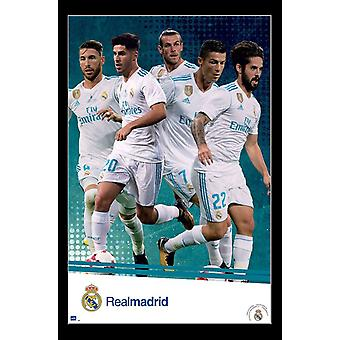 Real Madrid - Group Poster Print