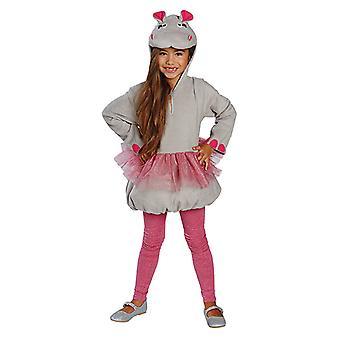 Little Nili Nilpferd Kostüm für Kinder deluxe