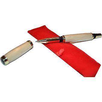 Bois Ballpoint Pen Rollerpen en bois stylo hornbeam hornbeam main ballpoint pen cadeau idée unique vis cap