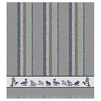 DDDDD Keukendoek Duck Dance grijs 50x55