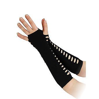 Bnov stigen stil fingerløse handsker