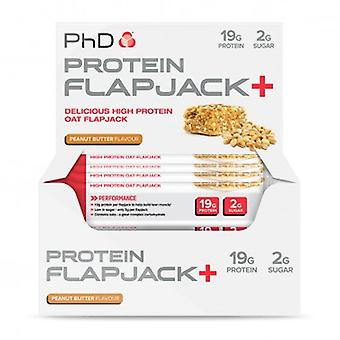 PhD Protein Flapjack+ 12 Bars (Sport , Muscle mass , Proteins)