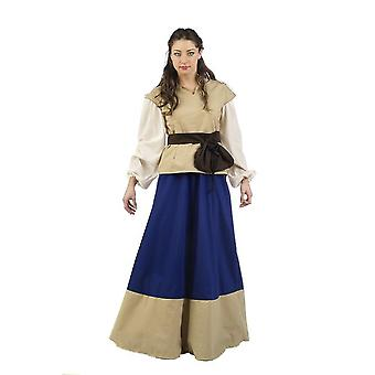 Mesdames costume robe médiévale medieval dames costumes médiévaux Lady Justa