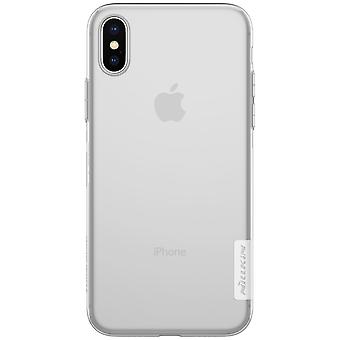 NILLKIN iPhone X/XS Nature Series 0.6 mm TPU-White