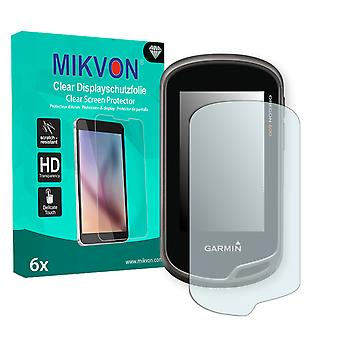 Garmin Oregon 650 Screen Protector - Mikvon Clear (Retail Package with accessories)