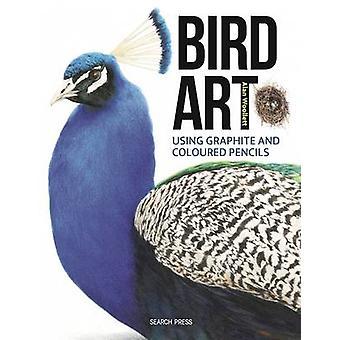 Bird Art - Drawing Birds Using Graphite & Coloured Pencils by Alan Woo