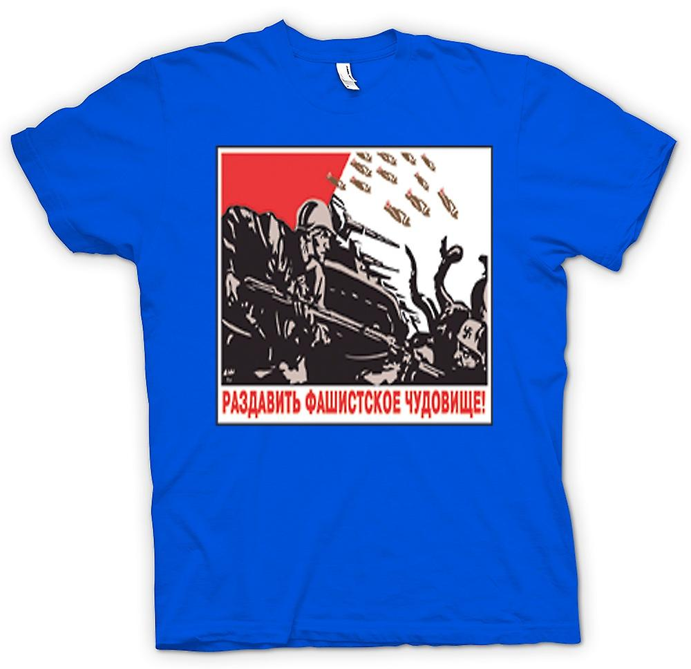 Mens T-shirt - Russian Propoganda War Poster