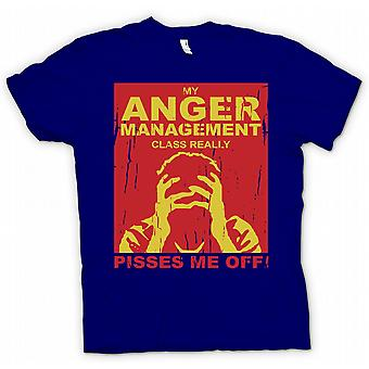 My Anger Management Class Really Pisses Me Off T Shirt