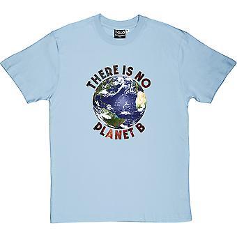 Es gibt keinen Planeten B (Farbe) Herren T-Shirt