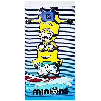 Minions Surf Towel bath towel 140 * 70 cm