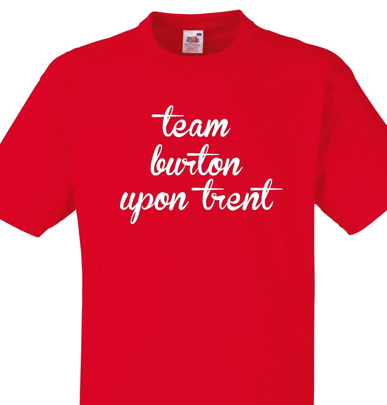 Team Burton upon trent Red T shirt