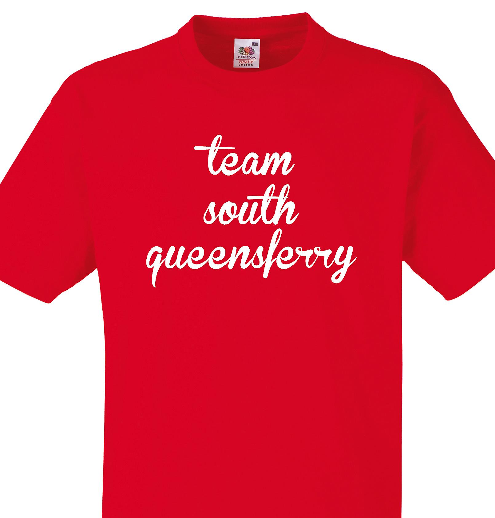 Team South queensferry Red T shirt
