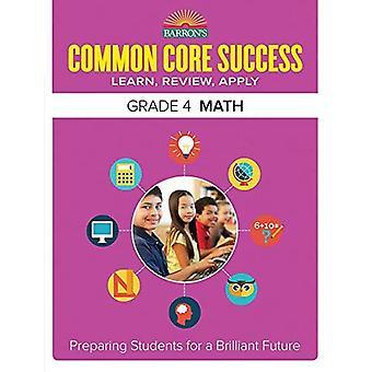 Barron's Common Core Success Grade 4 Math Workbook (Barron's Common Core Success Workbooks)