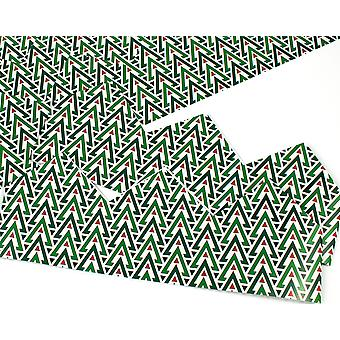 Geometric Christmas Adjustable Paper Hats for Crackers - 10 or 25 Pack