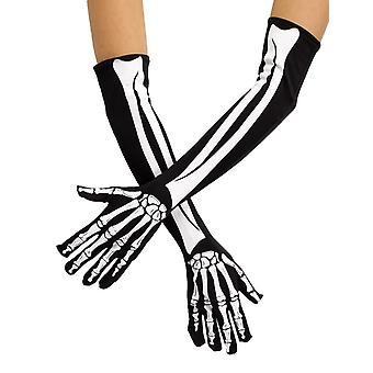 Skeleton Opera Gloves