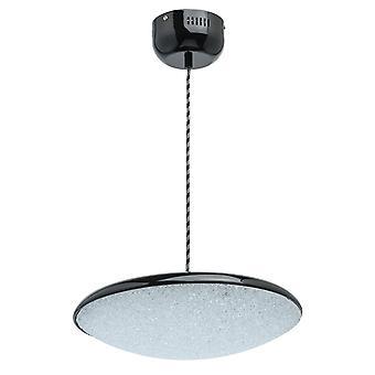 Glasberg - LED Pendant Large Adjustable In Black And White 703011101