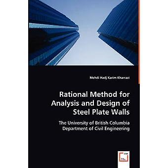 Metodo razionale per analisi e progettazione di pareti in lamiera di acciaio da Karim Hadj Kharrazi & Mehdi