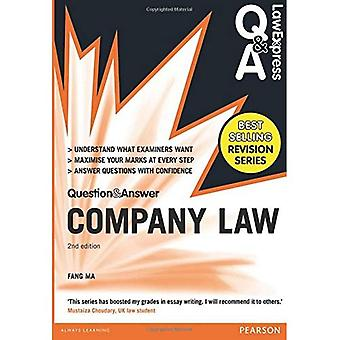Law Express Question and Answer: Company Law (Q&A Revision Guide) (Law Express Questions & Answers)