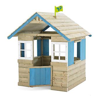 TP Toys Bramble Cottage Wooden Playhouse 18 Months+