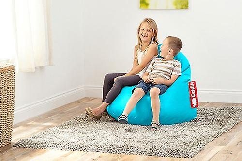 Turquoise Leather Bag Bean Lounger Gaming Faux Chair Pod Yy7bgf6