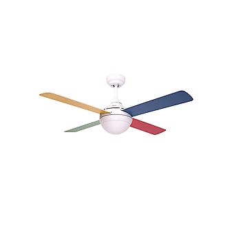 Ceiling fan BALLOO Multicolour 122cm / 48