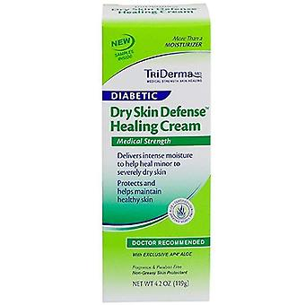 Triderma diabetic dry skin healing cream, doctor recommended, 4.2 oz