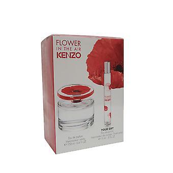 Kenzo Flower In der Luft-Geschenk Set 100ml EDP + 15ml EDP