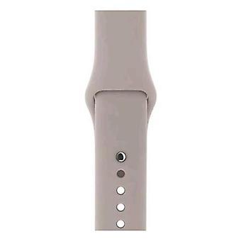 Apple 42mm sport strap grey pumice