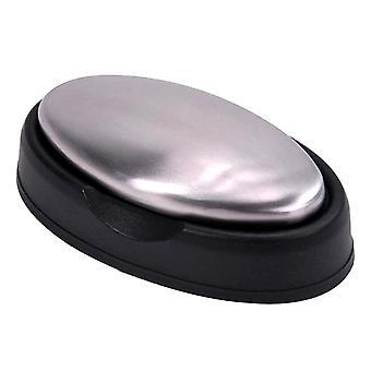TRIXES acero inoxidable olor eliminación Eliminación de jabón con soporte negro cocina baño alimentos Prep