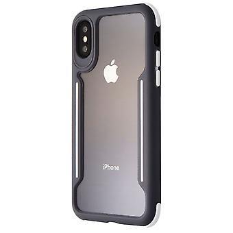 Verizon Shock absorbent Slim Guard Case for Apple iPhone Xs/X - Gray/White