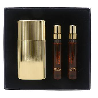 Velvet Orchid by Tom Ford Perfume Atomizer 3 X 0.17oz/3 X 5ml Spray New In Box