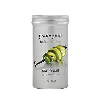 Fruit Emotions Lime & Vanilla Body Scrub Salts 400g
