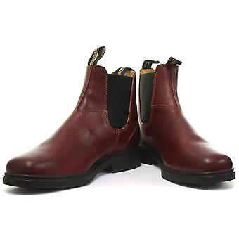 Blundstone 1302 Chisel Toe Burgundy Unisex Chelsea Boots