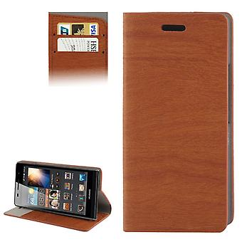 Design case for Huawei Ascend P6 Brown