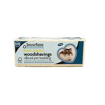 Snefnug Woodshavings citron duftende - lille (Pack af 8)