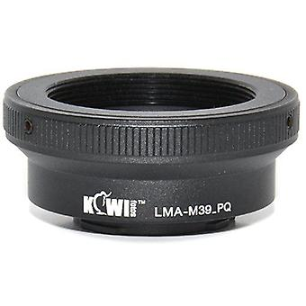 Kiwifotos Lens Mount Adapter: Allows Leica M39 thread mount (LTM) lenses to be used on the Pentax Q, Q10