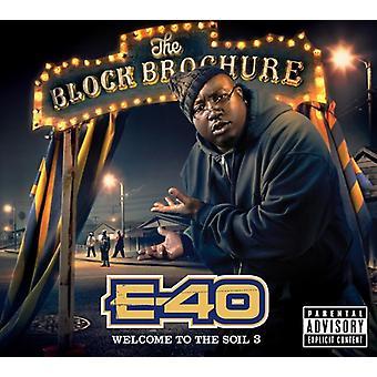 E-40-blok Brochure: Velkommen til jord 3 [CD] USA importen